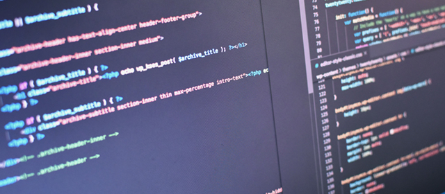 PHPのコーディング画面